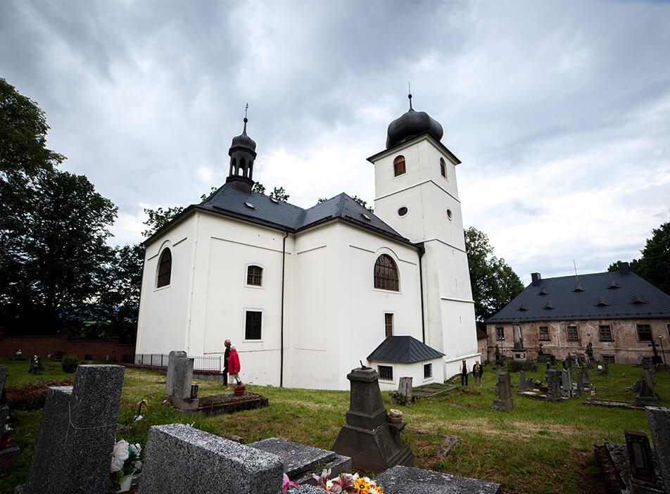 Kostel Martínkovice
